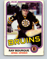 1981-82 O-Pee-Chee #1 Ray Bourque  Boston Bruins  V11602