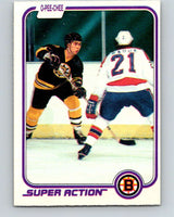 1981-82 O-Pee-Chee #17 Ray Bourque  Boston Bruins  V11607