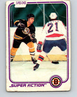 1981-82 O-Pee-Chee #17 Ray Bourque  Boston Bruins  V11612