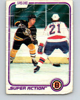 1981-82 O-Pee-Chee #17 Ray Bourque  Boston Bruins  V11613