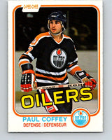 1981-82 O-Pee-Chee #111 Paul Coffey  RC Rookie Edmonton Oilers  V11639