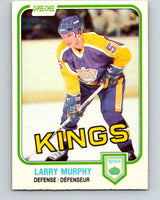 1981-82 O-Pee-Chee #148 Larry Murphy  RC Rookie Los Angeles Kings  V11658