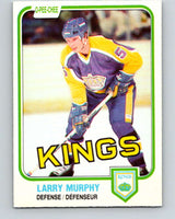 1981-82 O-Pee-Chee #148 Larry Murphy  RC Rookie Los Angeles Kings  V11659