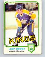 1981-82 O-Pee-Chee #148 Larry Murphy  RC Rookie Los Angeles Kings  V11661
