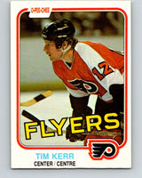 1981-82 O-Pee-Chee #251 Tim Kerr  RC Rookie Philadelphia Flyers  V11674