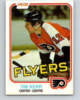 1981-82 O-Pee-Chee #251 Tim Kerr  RC Rookie Philadelphia Flyers  V11675