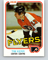 1981-82 O-Pee-Chee #251 Tim Kerr  RC Rookie Philadelphia Flyers  V11676