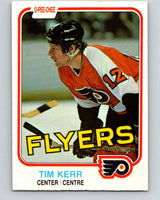 1981-82 O-Pee-Chee #251 Tim Kerr  RC Rookie Philadelphia Flyers  V11677