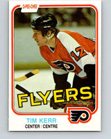 1981-82 O-Pee-Chee #251 Tim Kerr  RC Rookie Philadelphia Flyers  V11678