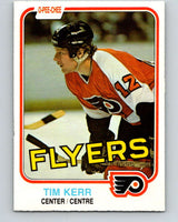 1981-82 O-Pee-Chee #251 Tim Kerr  RC Rookie Philadelphia Flyers  V11679
