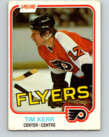 1981-82 O-Pee-Chee #251 Tim Kerr  RC Rookie Philadelphia Flyers  V11682