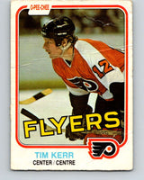1981-82 O-Pee-Chee #251 Tim Kerr  RC Rookie Philadelphia Flyers  V11683