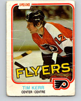 1981-82 O-Pee-Chee #251 Tim Kerr  RC Rookie Philadelphia Flyers  V11684