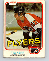 1981-82 O-Pee-Chee #251 Tim Kerr  RC Rookie Philadelphia Flyers  V11685