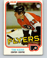1981-82 O-Pee-Chee #251 Tim Kerr  RC Rookie Philadelphia Flyers  V11686