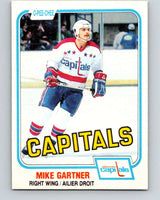 1981-82 O-Pee-Chee #347 Mike Gartner  Washington Capitals  V11699
