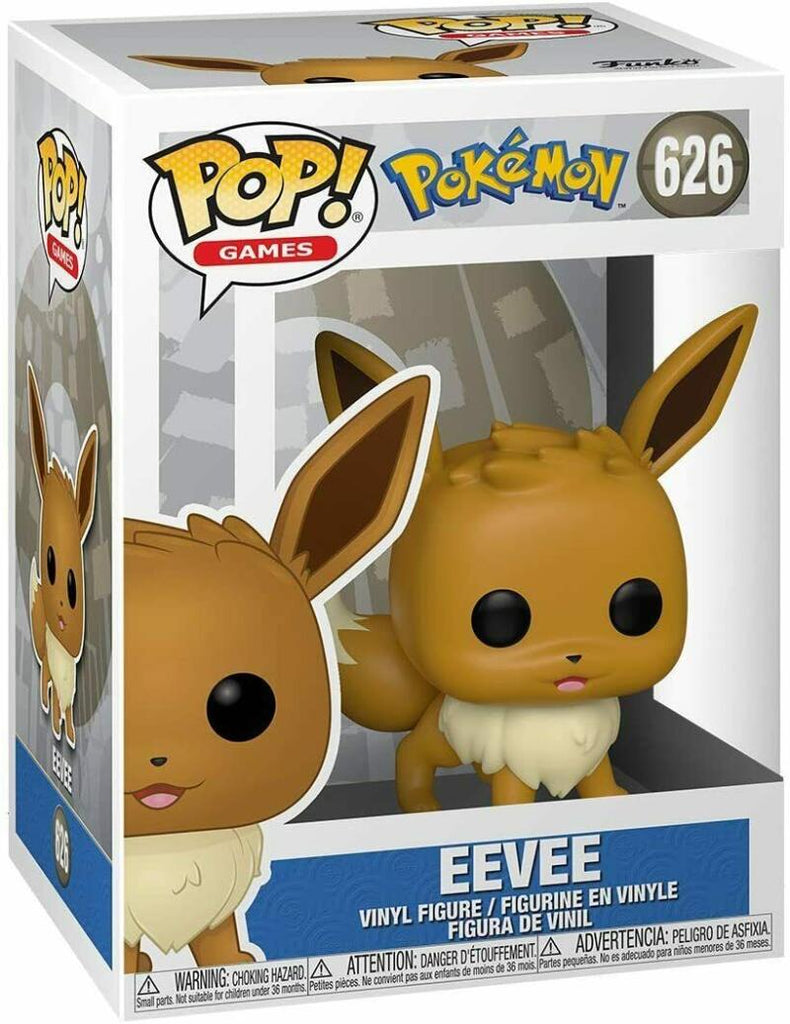 Funko Pop - 626 Games Pokemon - Eevee Vinyl Figure