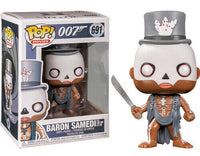 Funko Pop - 691 Movies 007 James Bond - Baron Samedi Vinyl Figure