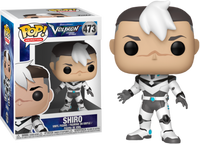Funko Pop - 473 Animation DreamWorks Voltron - Shiro Vinyl Figure