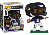 Funko Pop - 146 Football NFL - Lamar Jackson Baltimore Ravens Vinyl Figure
