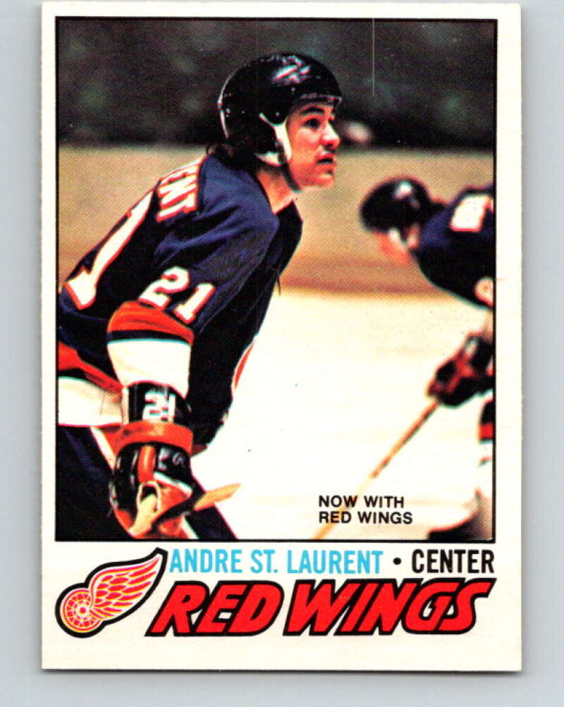 1977-78 O-Pee-Chee #171 Andre St. Laurent  Detroit Red Wings  V14124