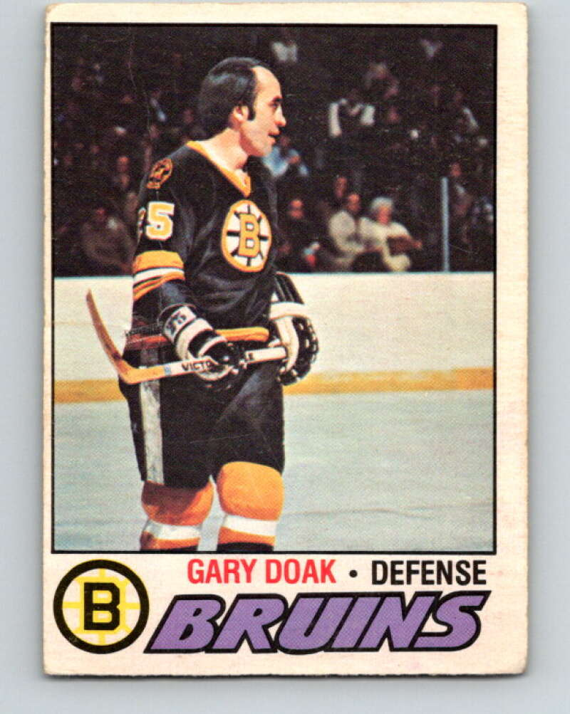 1977-78 O-Pee-Chee #181 Gary Doak  Boston Bruins  V14203