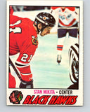 1977-78 O-Pee-Chee #195 Stan Mikita  Chicago Blackhawks  V14299