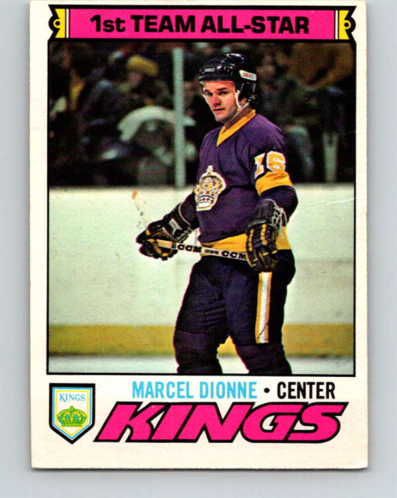 1977-78 O-Pee-Chee #240 Marcel Dionne AS  Los Angeles Kings  V14641