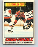1977-78 O-Pee-Chee #262 Stanley Cup Semi-Finals  V14806