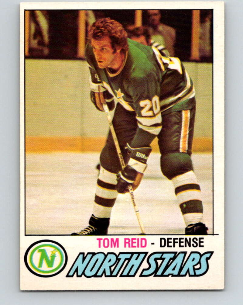 1977-78 O-Pee-Chee #306 Tom Reid  Minnesota North Stars  V15108