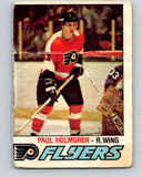 1977-78 O-Pee-Chee #307 Paul Holmgren  RC Rookie Philadelphia Flyers  V15125