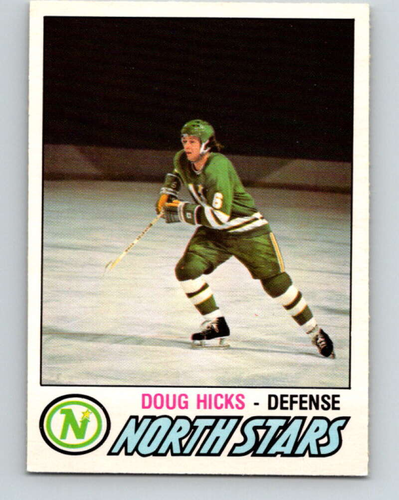 1977-78 O-Pee-Chee #361 Doug Hicks  RC Rookie Minnesota North Stars  V15568