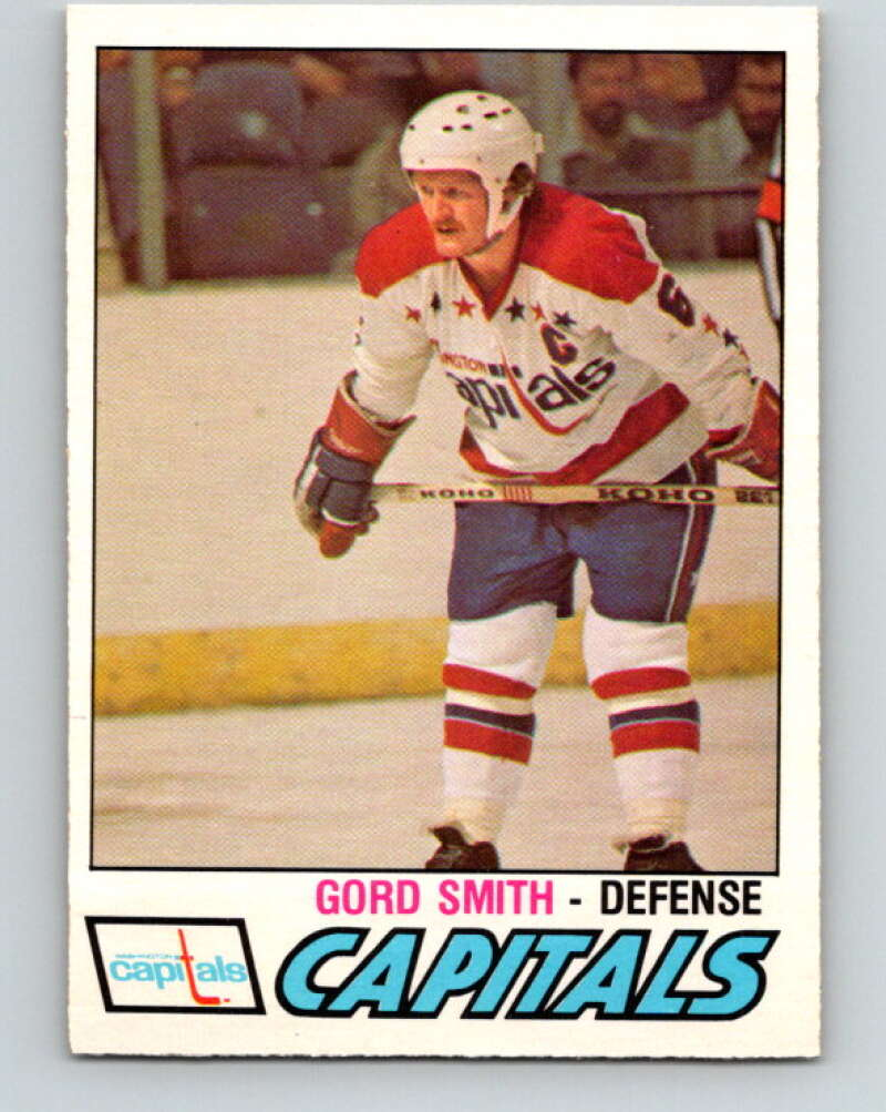 1977-78 O-Pee-Chee #387 Gord Smith  Washington Capitals  V15758