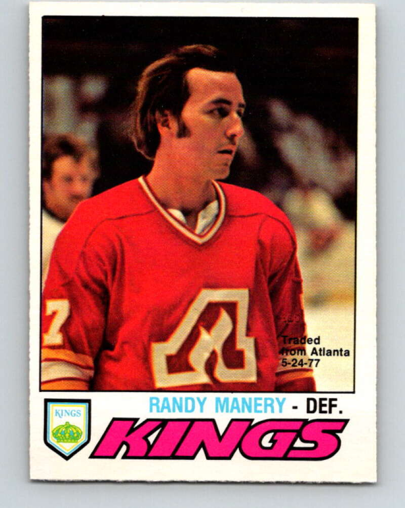 1977-78 O-Pee-Chee #389 Randy Manery  Los Angeles Kings  V15772