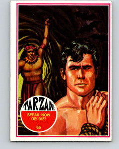 1966 Tarzan #65 Speak Now or Die  V16413