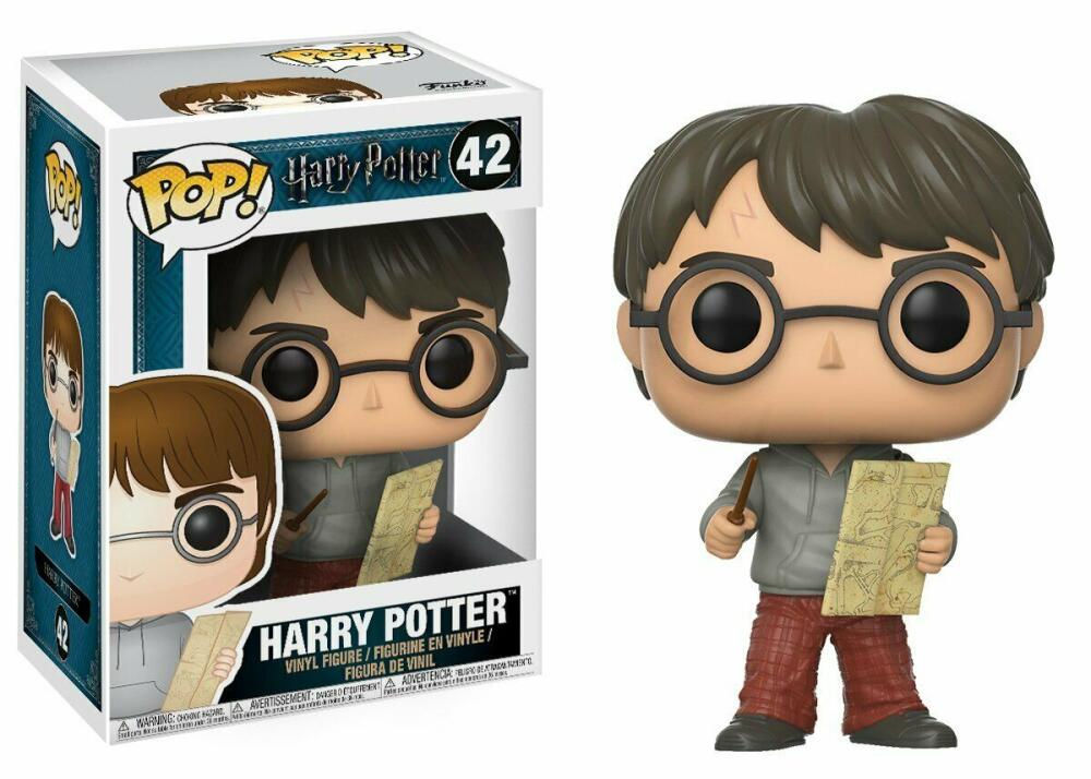 Funko Pop - 42 Harry Potter - Harry Potter with Map Vinyl Figure