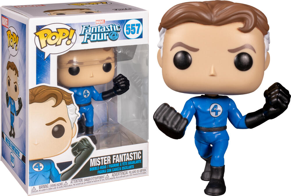 Funko Pop - 557 Marvel Fantastic Four - Mister Fantastic Vinyl Figure