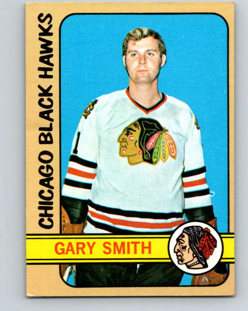 1972-73 Topps #114 Gary Smith  Chicago Blackhawks  V16585