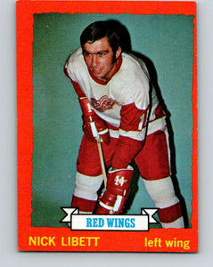 1973-74 Topps #49 Nick Libett  Detroit Red Wings  V16633