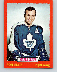 1973-74 Topps #55 Ron Ellis  Toronto Maple Leafs  V16636