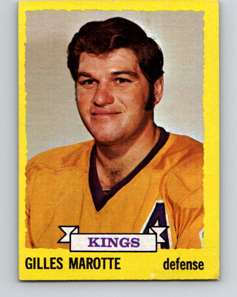 1973-74 Topps #188 Gilles Marotte  Los Angeles Kings  V16698