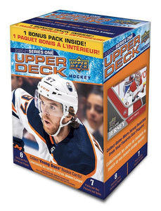 2020-21 Upper Deck Series 1 Blaster Factory Sealed Hockey Box