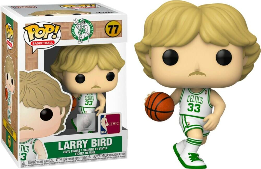 Funko Pop - 77 NBA Basketball - Larry Bird Boston Celtics Vinyl Figure