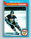 1979-80 O-Pee-Chee #9 Greg Malone  Pittsburgh Penguins  V16794
