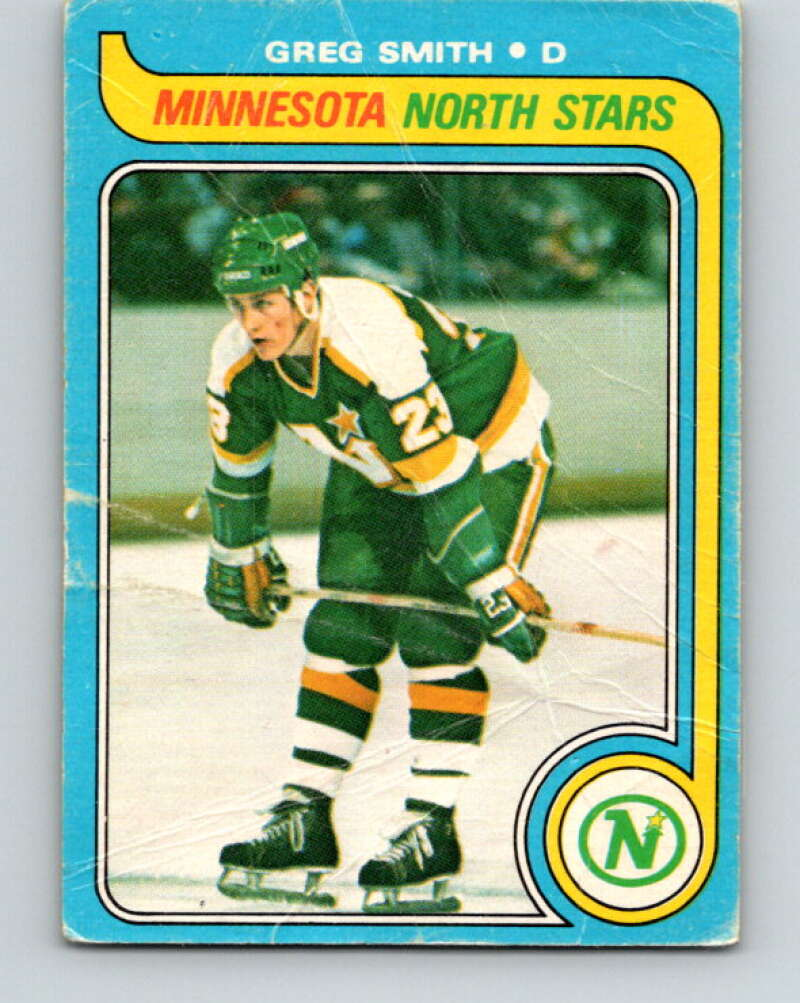 1979-80 O-Pee-Chee #11 Greg Smith  Minnesota North Stars  V16834
