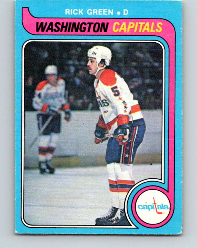 1979-80 O-Pee-Chee #309 Rick Green  Washington Capitals  V19720