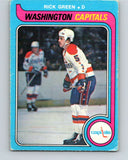 1979-80 O-Pee-Chee #309 Rick Green  Washington Capitals  V19724