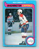 1979-80 O-Pee-Chee #309 Rick Green  Washington Capitals  V19725