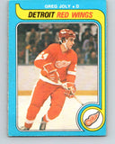 1979-80 O-Pee-Chee #311 Greg Joly  Detroit Red Wings  V19737