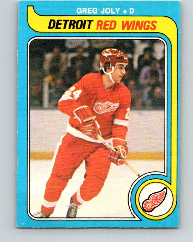 1979-80 O-Pee-Chee #311 Greg Joly  Detroit Red Wings  V19738